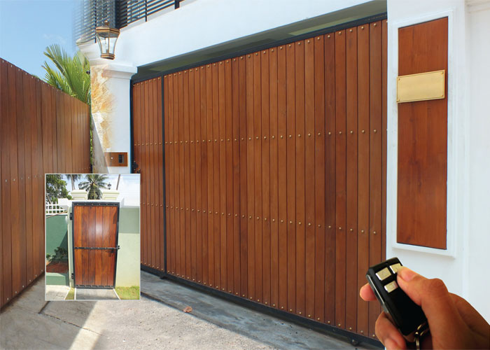 Single wooden door design wooden modern door designs single wooden - Sliding Gates Designer Roller Door Swing Gates Sliding